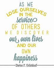 Image result for LDS Quotes On Service