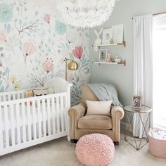 Nursery GOALS! So many sweet details. What's your favorite part? Image: @Jen373