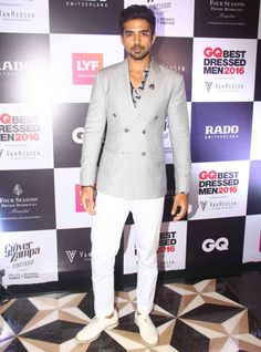 Saqib Saleem | ATTENTION, All Men: 12 Of The Most Dapper Guys At GQ Best Dressed Men 2016 You Can Take Style Cues From Saqib Saleem, Vans 2016, Best Dressed Man, Gq, Dapper, Men Dress, Nice Dresses, Hot Guys, Bollywood