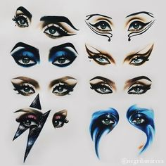 Lady gaga eye makeup from all the eras Lady Gaga Makeup, Drag Makeup, Eye Makeup, Drag Queen Makeup, Lady Gaga Outfits, Lady Gaga Fashion, Tatuagem Lady Gaga, Lady Gaga Disfraz, Lady Gaga Looks