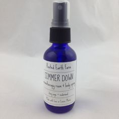 SIMMER DOWN Aromatherapy Room & Body Spray 2 ounce by RootedEarth