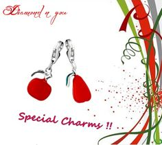 This charm in red color is one of the many charms in our exclusive collection. We make sure that you have a new charm to buy every month and have ample choices for making a gift. To know more about this model and for checking our complete range, check here: http://www.diamondnyou.com