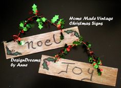 DesignDreams by Anne: Home Made Ornaments