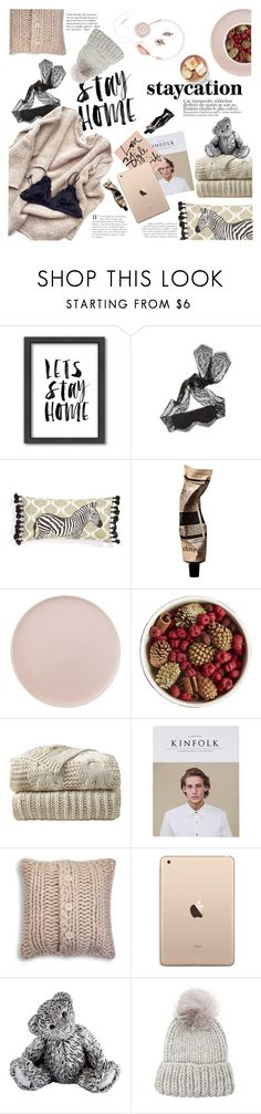 """""""Staycation"""" by modernbovary ❤ liked on Polyvore featuring BaubleBar, Americanflat, Hanky Panky, Levtex, Aesop, CB2, Pier 1 Imports, UGG Australia, Royal Selangor and Eugenia Kim"""