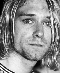 """If my eyes could show my soul, everyone would cry when they saw me smile."" ― Kurt Cobain"