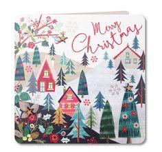 CH36: Christmas Village - £3.25 : Laura Darrington Design
