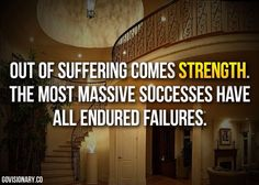 Out of struggles develop strength. #quotes #motivation
