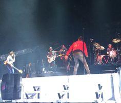 Adam, Mickey, Jesse, Sam & Matt Atlanta 2-19-15 #Vtour @OfficialMaroon5
