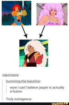 jasper, fusion, stevenuniverse