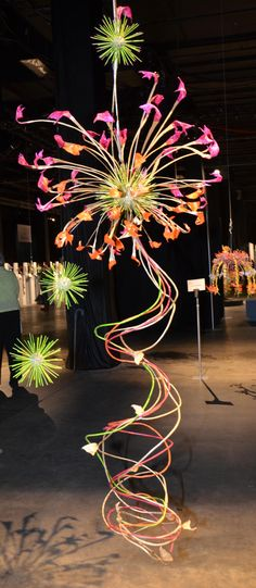 'Fireworks' WAFA Boston 2011. Bronze. Lorette Smith