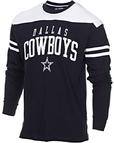 Dallas Cowboys Mens Bravery Embroidered Long Sleeve T Shirt  34.95 Dallas  Cowboys Outfits 5c9777a2a