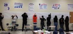 Wall Drill activity-thinking about using for Pythagorean Theorem