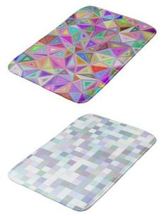 100+ Colorful Bath Mats - graphic design mattresses for your bathroom