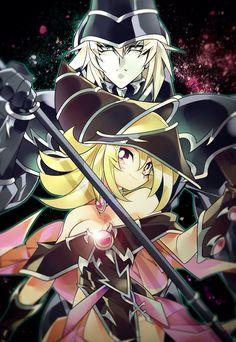 Dark Magician and Dark Magician Girl