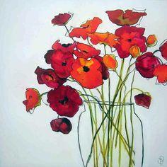Sara Paxton Artworks-Glass Vase-92x92cm