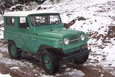 In the sixties the Indian Army was looking for a rugged vehicle for use in the mountain regions of the Himalayas. The Chinese attack . Nissan Patrol, Best 4x4 Cars, Tonka Toys, Nissan Infiniti, Old Motorcycles, Indian Army, Classic Cars Online, Monster Trucks, Vehicles