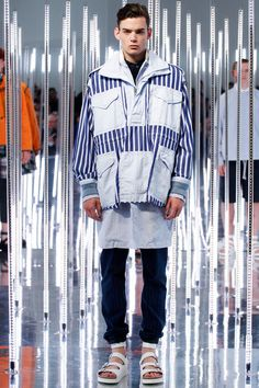 Sacai | Spring 2015 Menswear Collection | Style.com