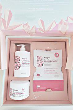Briogeo Haircare - Crystal Powers Hair Repair Vault - Gift Idea - Katrine M Skincare Packaging, Beauty Packaging, Deep Conditioning Hair, Beauty Box, Top Beauty, Cosmetic Sets, Business Hairstyles, Design Poster, Hair Repair