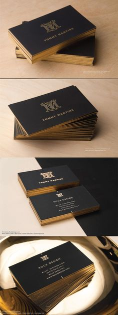 Crafted from our luxurious Hard Suede cardstock, our Tommy Martins template is simple yet refined. With a smooth leather-like feel, this card is certain to stand out from the competition. Professional Business Card Design, Luxury Business Cards, Black Business Card, Minimalist Business Cards, Elegant Business Cards, Business Card Logo, Buissness Cards, Creative Powerpoint Presentations, Visiting Card Design