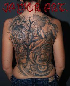 jAWOR ART MROCZNA BAJKA tatuaż
