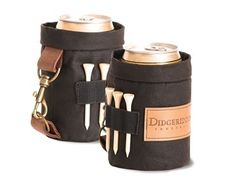Golfer's Can Cooler Gift Suggestions, Fun Drinks, Leather Handle, Golf Bags, Aud, Free Delivery, Chill, Great Gifts, Wraps