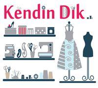 www.kendindik.com popüler moda, tasarım, dikiş sitesi Sewing Blogs, Sewing Projects, Diy Clothes, Embroidery, Stitching, Metal, Garden, Ideas, Cases