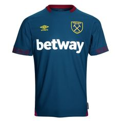 ecf97f0e06 West Ham United Away Blue Soccer Jersey Shirt Model Year  Country and  League  England-Premier League Material  Polyester Type of Brand Logo   Embroidered ...