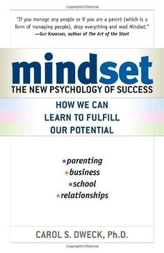 Bestseller books online Mindset: The New Psychology of Success Carol Dweck  http://www.ebooknetworking.net/books_detail-0345472322.html