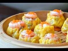 Siumai, from scratch - How to Make Cantonese Dim Sum style Siu Mai (烧卖) Siomai, Authentic Chinese Recipes, Asian Recipes, Ethnic Recipes, Dim Sum, Breakfast Items, Recipe Details, Daily Meals, Food Videos