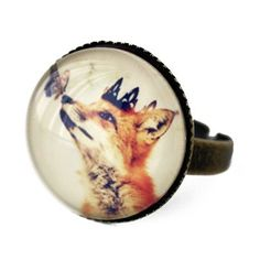 Handmade Gifts | Independent Design | Vintage Goods Little Fox Prince Ring - Jewelry - Girls