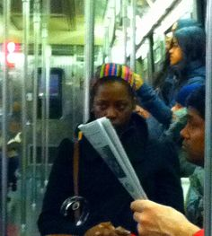 Browneyes on the G train
