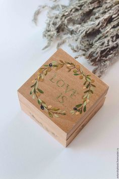 Box for wedding  rings