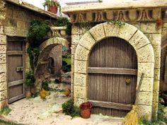 Foro de Belenismo - Arquitectura y paisaje -> Portal con callejuela