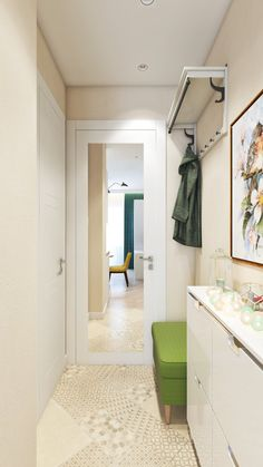 Дизайн узкого коридора: самые классные идеи
