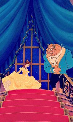 Beauty and the Beast #disney #beautyandthebeast