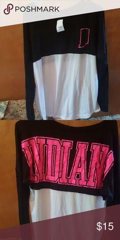 Long sleeve shirt Never worn Rue21 Indiana shirt Tops Tees - Long Sleeve