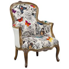 OS054 - Fauteuil Queen Milady