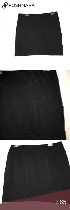 Diane von Furstenberg - Mini Skirt - Size 6 This black mini skirt is an essential for summer.  With a bit of 80s flare and side pockets (see picture for details), this skirt has more details than a bland mini skirt!  Never worn but no tags.  True to size.  Smoke free home. Diane von Furstenberg Skirts Mini