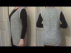Knitting Videos, Baby Knitting Patterns, Crochet Shawl, Sari, Tops, Women, Fashion, Scrappy Quilts, Knit Vest