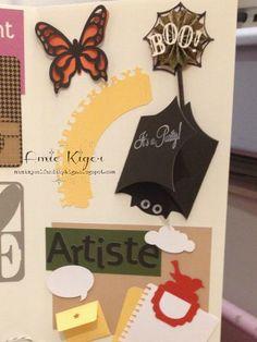 My CTMH Cricut Display Board: Artiste Cartridge
