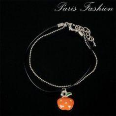 Bracelet pomme orangée
