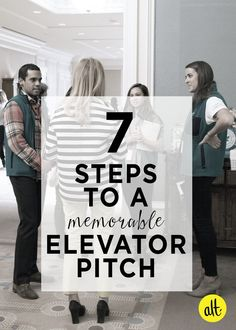 BIZ - Seven Steps to a Confident Elevator Pitch Minding My Own Business, Start Up Business, Business Tips, Business Entrepreneur, Stationary School, Career Coach, How To Gain Confidence, Business Intelligence, Get The Job