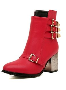Shop Cute All-matched Buckle Pointed Toe New Arrival Boots on sale at Tidestore with trendy design and good price. Come and find more fashion Snow Boots here. Cheap Boots, Fashionable Snow Boots, Boots Online, Boots For Sale, Me Too Shoes, Fashion Accessories, Ankle Boots, Footwear, Toe