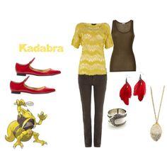 Kadabra (Pokemon) Inspired Outfit