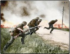 2nd SS.Panzer Division 'Das Reich' advancing in Russia 1941.