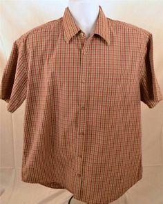 Gap Men's Size XL Extra Large Short Sleeve 100% Cotton Multicolor Shirt