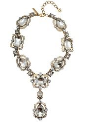 Large Crystals Statement Necklace