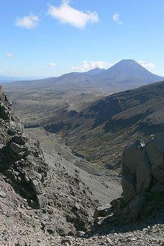 Mount Ngauruhoe, (aka Mount Doom in Lord of the Rings), New Zealand.