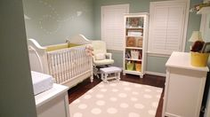 nursery w paper airplane decal