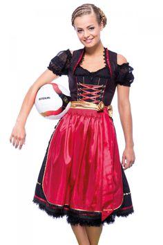 Soccer Fans aufgepasst: Das WM-Dirndl 2014 von Krüger Malds ist da! Für alle Schland-Fans, Rudelgucker und Schwarz-Rot-Gold-Anfeuerer. Ab sofort im Sturm in unsere Shop-Aufstellung!